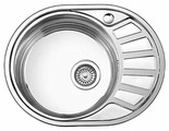 Врезная кухонная мойка Ledeme L85745-6L 57х45см нержавеющая сталь