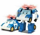 Робот-трансформер Silverlit Robocar Poli 12,5 см с подсветкой и аксессуарами