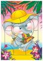 Рамка-вкладыш Дрофа-Медиа Слонёнок (2461), 11 дет.