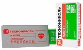 Экструдированный пенополистирол (XPS) Техноплекс 118х58см 100мм 4 шт