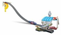 Bburago Игровой набор Street Fire Challenge трек, сервис 18-30032