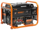 Газо-бензиновый генератор Daewoo Power Products GDA 7500DFE (6000 Вт)