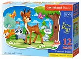 Пазл Castorland A Deer and Friends (B-120154), 12 дет.