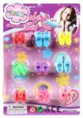 Shantou Gepai Набор обуви для кукол 29 см AMY-8, 9 пар в ассортименте