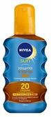 Nivea Sun солнцезащитное масло-спрей для загара Защита и загар SPF 20