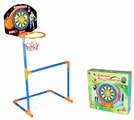 Набор pilsan 3 в 1 Баскетбольное кольцо + ворота + дартс (03 392)