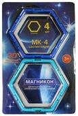 Магнитный конструктор Магникон Набор элементов МК-4-6У Шестиугольник