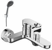 Однорычажный смеситель для ванны с душем Rossinka Silvermix RS33-31