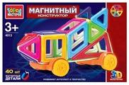 Магнитный конструктор ГОРОД МАСТЕРОВ Магнитный 4013