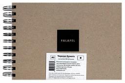 Скетчбук Falafel books BlackPaper 21 х 14.8 см (A5), 160 г/м², 62 л.