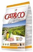 Корм для кошек Adragna Cat&Co Wellness Adult Fitness Chicken and Peas