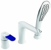 Однорычажный смеситель для ванны с душем Frap H34 F1134