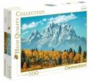 Пазл Clementoni High Quality Collection Гранд-Титон осенью. США (35034), 500 дет.