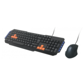 Клавиатура и мышь Ritmix RKC-055 Black USB