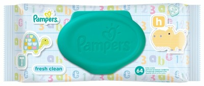 Влажные салфетки Pampers Fresh Clean