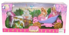 Shenzhen Toys карета с лошадью (689B)