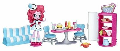 Набор с мини-куклой My Little Pony Equestria Girls Кафе Пинки Пай, 12 см, B9485