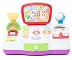 Интерактивная развивающая игрушка Kiddieland Моя первая касса