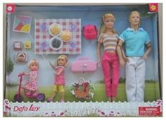 Набор кукол Defa Lucy Семья 8301