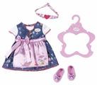 Куклы Одежда для куклы Zapf Creation Baby Born Платье с передником 824-504