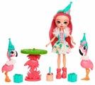 Набор с куклой Enchantimals Праздник Фламинго, 15 см, FCG79