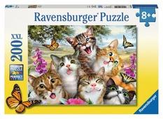 Пазл Ravensburger Приветливые коты (12620), 200 дет.