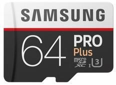 Карта памяти Samsung microSDXC PRO Plus 100MB/s + SD adapter