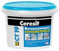 Грунтовка Ceresit CT 19 Бетонконтакт (5 кг)