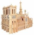 Сборная модель Чудо-Дерево Собор Парижской Богоматери (P151)