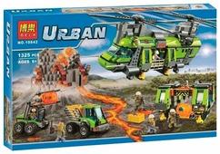 Конструктор BELA Urban 10642 Грузовой вертолет исследователей вулканов