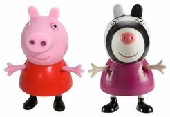 Игровой набор Intertoy Peppa Pig Пеппа и Зои 28814