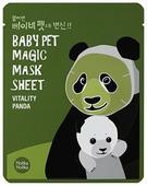 Holika Holika тканевая маска-мордочка Baby Pet Magic Панда против темных кругов