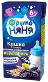 Каша ФрутоНяня молочная 5 злаков с черносливом (с 6 месяцев) 200 мл