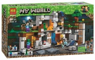 Конструктор BELA My World 10990 Приключения в шахтах