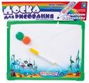 Доска для рисования детская 1 TOY Ну, погоди! с маркером и магнитиками (Т53140)