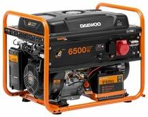 Бензиновый генератор Daewoo Power Products GDA 7500E-3 (6000 Вт)