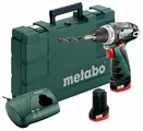 Шуруповерт Metabo PowerMaxx BS Basic 600080500 (с 2-мя АКБ 2 Ah)