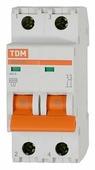 Автоматический выключатель TDM ЕLECTRIC ВА 47-29 2P (B) 4,5kA