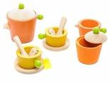 Набор продуктов с посудой PlanToys 3604