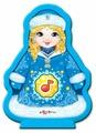 Интерактивная развивающая игрушка Азбукварик Снегурочка