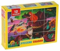 Кубики-пазлы Рыжий кот Русские сказки К12-0551