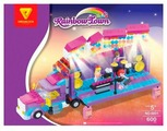 Конструктор DREAMLOCK Rainbow Town 6801 Грузовик