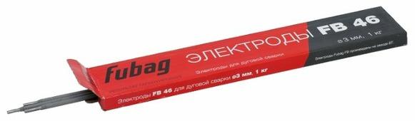 Электроды для ручной дуговой сварки Fubag FB46 3мм 1кг