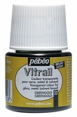 Краски Pebeo Vitrail Золотисто-зеленый 050022 1 цв. (45 мл.)