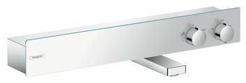 Смеситель для ванны с душем hansgrohe ShowerTablet 600 13109000 двухрычажный с термостатом хром