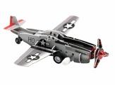 3D-пазл Pilotage 3D Самолет Fighter заводной (RC39688)