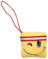Мягкая игрушка Fancy Смайлик квадрат с красной лентой 7 см