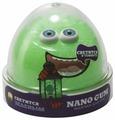 Жвачка для рук NanoGum светится в темноте, зеленая, 50 гр (NGGG50)