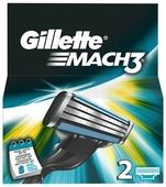 Сменные кассеты Gillette Mach3