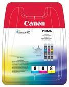Набор картриджей Canon CLI-8 C/M/Y Multipack (0621B029)